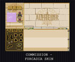 COMMISSION - FURCADIA SKIN by PointyHat