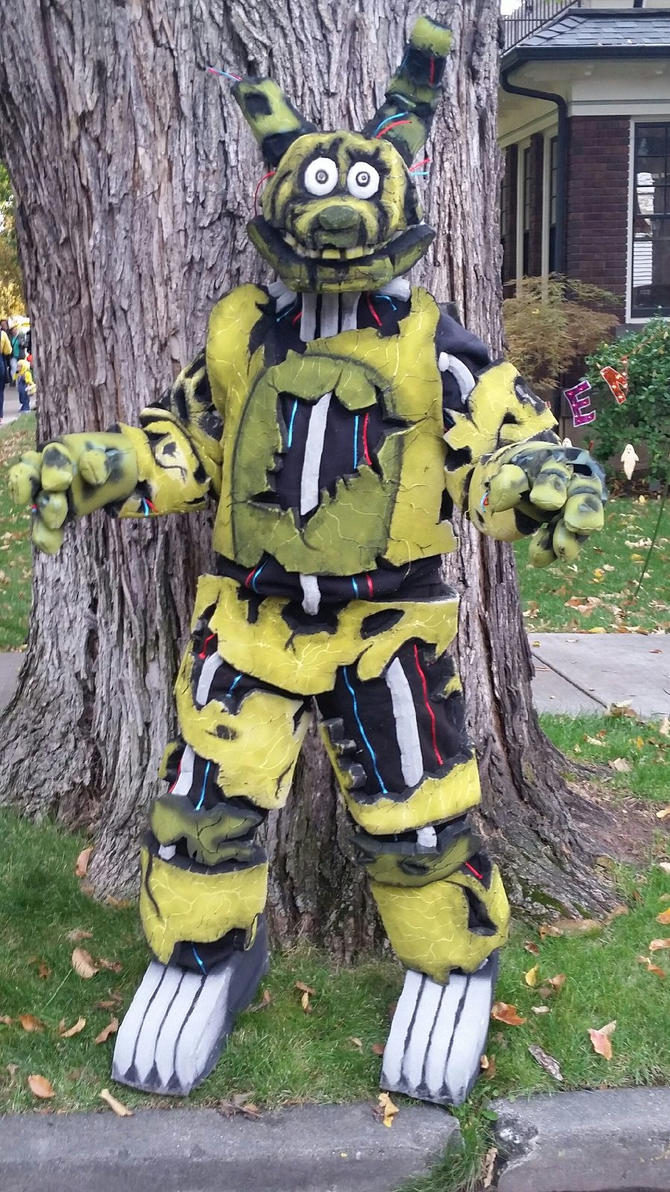 Springtrap cosplay by mrsirbubbles on deviantart