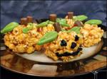 Week 2 ''Popcorn Ball Pumpkins'' +Recipe