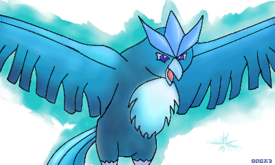 Articuno by Sactourism