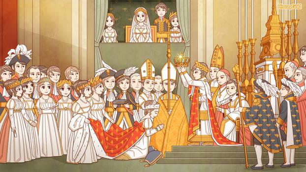 [History of France] The Coronation of Napoleon
