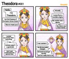 [History of Byzantine Empire] Theodora #001