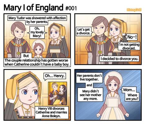 [History of England] Mary I of England #001