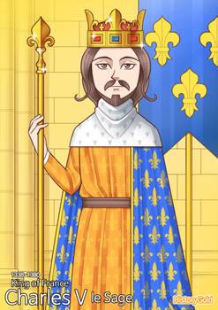 [History of France] Charles V of France