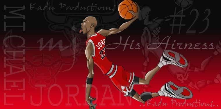 Michael Jordan Cartoon Wallpaper: Animated Michael Jordan By Kadu-Productions On DeviantArt