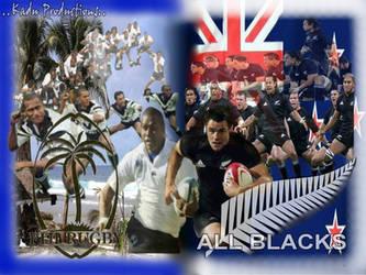 Fiji and New Zealand Haka