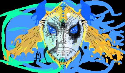 Solar Blue Guy
