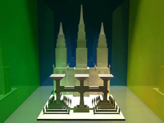 Simple temple