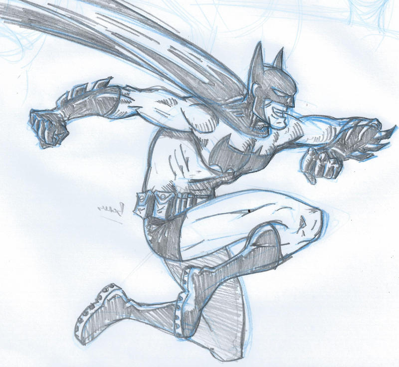 Batman leap by crazyjedichicken