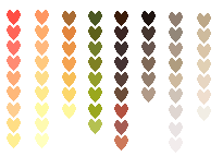 Palettes. Cleaner format :D by K3nel1OS