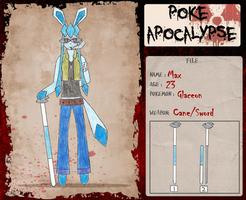 Poke-Apocalypse: Max by xXEmoDeinoXx
