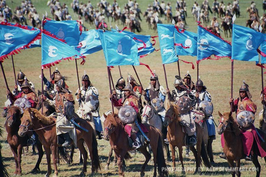 13th Century Mongolian Cavalry by Aagii