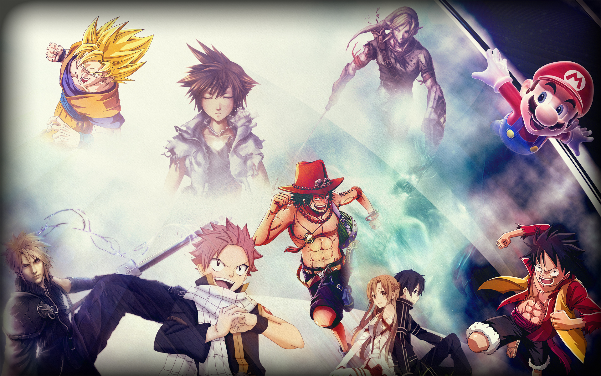 Favourite Anime Game Wallpaper By Cyropath