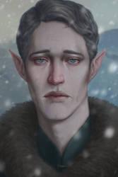 Snow Elf by TobyFoxArt