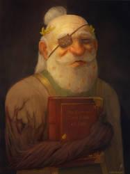 Merle - Dwarven Cleric by TobyFoxArt