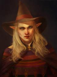 Taako - Elven Wizard by TobyFoxArt