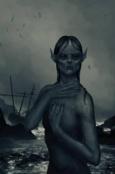 Vampiric Mermaid