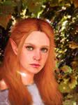 Autumnal Elf by TobyFoxArt