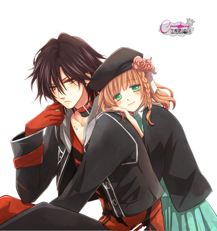 Amnesia Shin and Heroine png/render by ~amuchan06 on deviantART