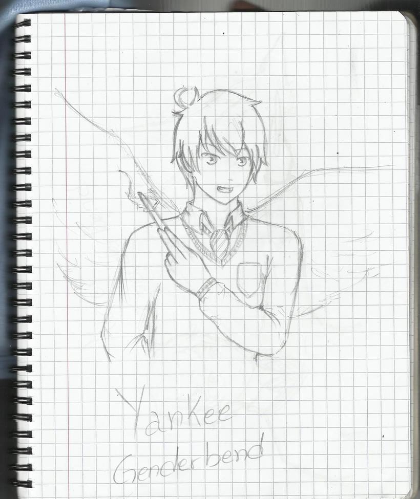 Yankee genderbend by yuzukirawrs