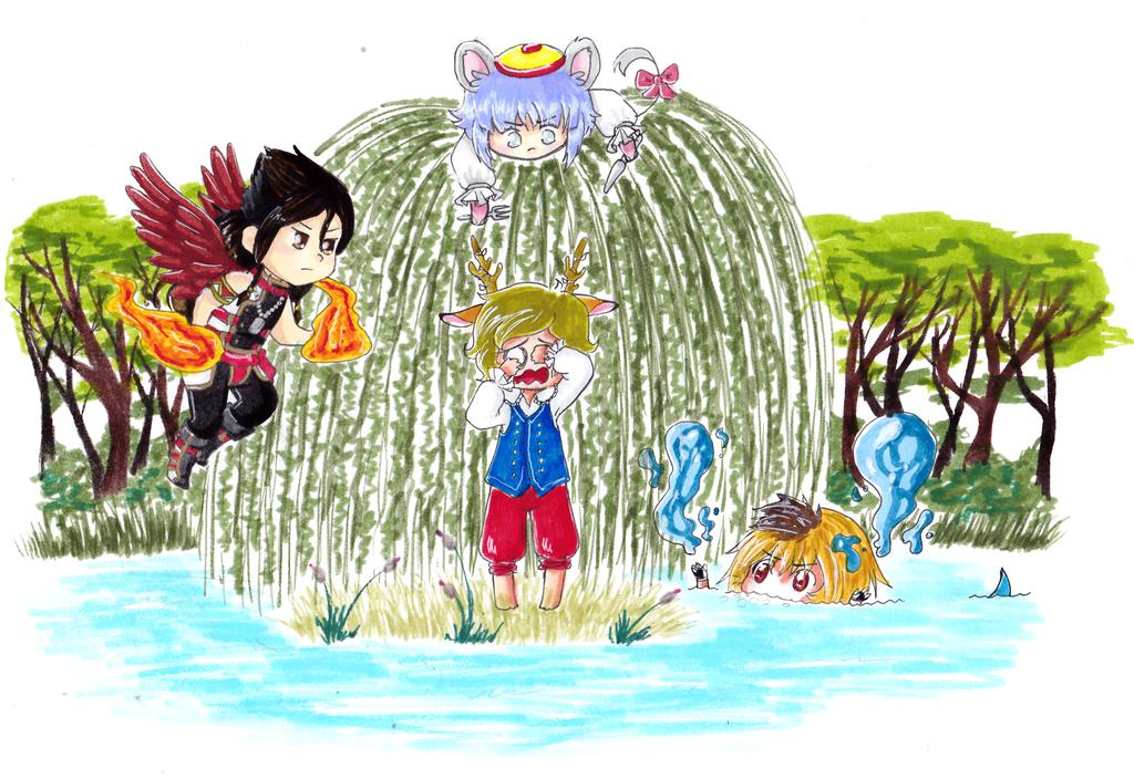 IP : Pelea con los guias / Fitzwilliam by yuzukirawrs