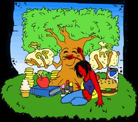 Aisha by the Money Tree