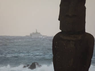Easter Island, Chilean Navy