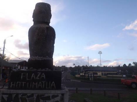 Plaza Hotumatua, Easter Island