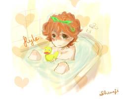 Bathtime Kyle by Shimejiro