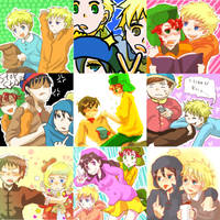 Shimeji's SP collage 2 by Shimejiro