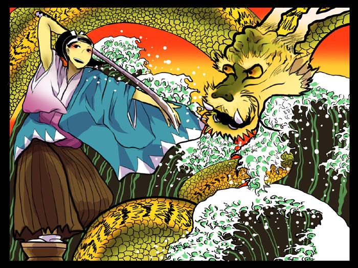 JPN: Souji Okita by Shimejiro