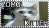 ZOMG Kitteh Stamp by GabbyStamps