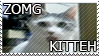 ZOMG Kitteh Stamp by GabbyStamps