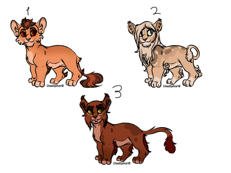 lion cub adopt OPEN