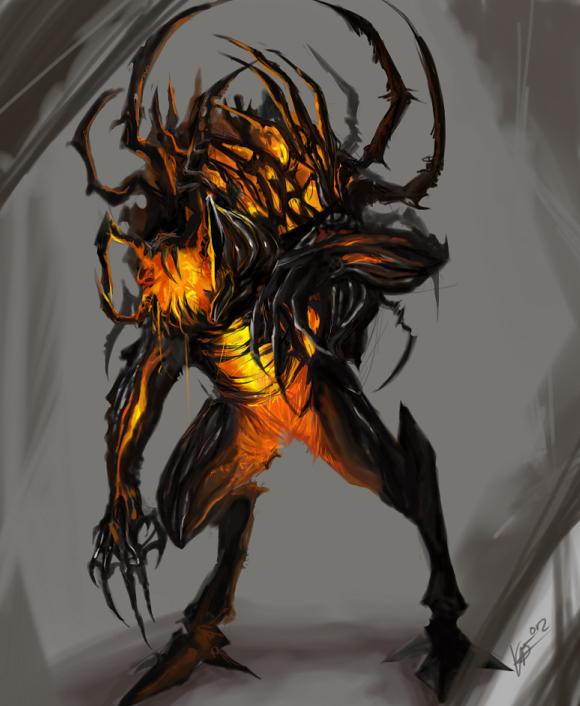 Destroyer by Fell--Larka