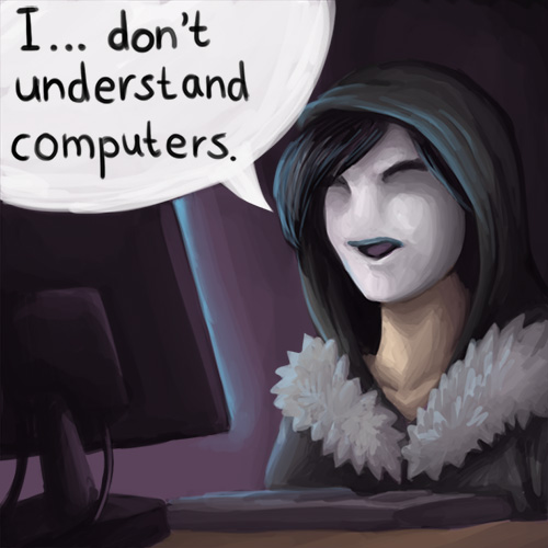 I... don't understand computers by sushy00