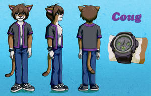 StrangerCoug main reference sheet 2 by sushy00