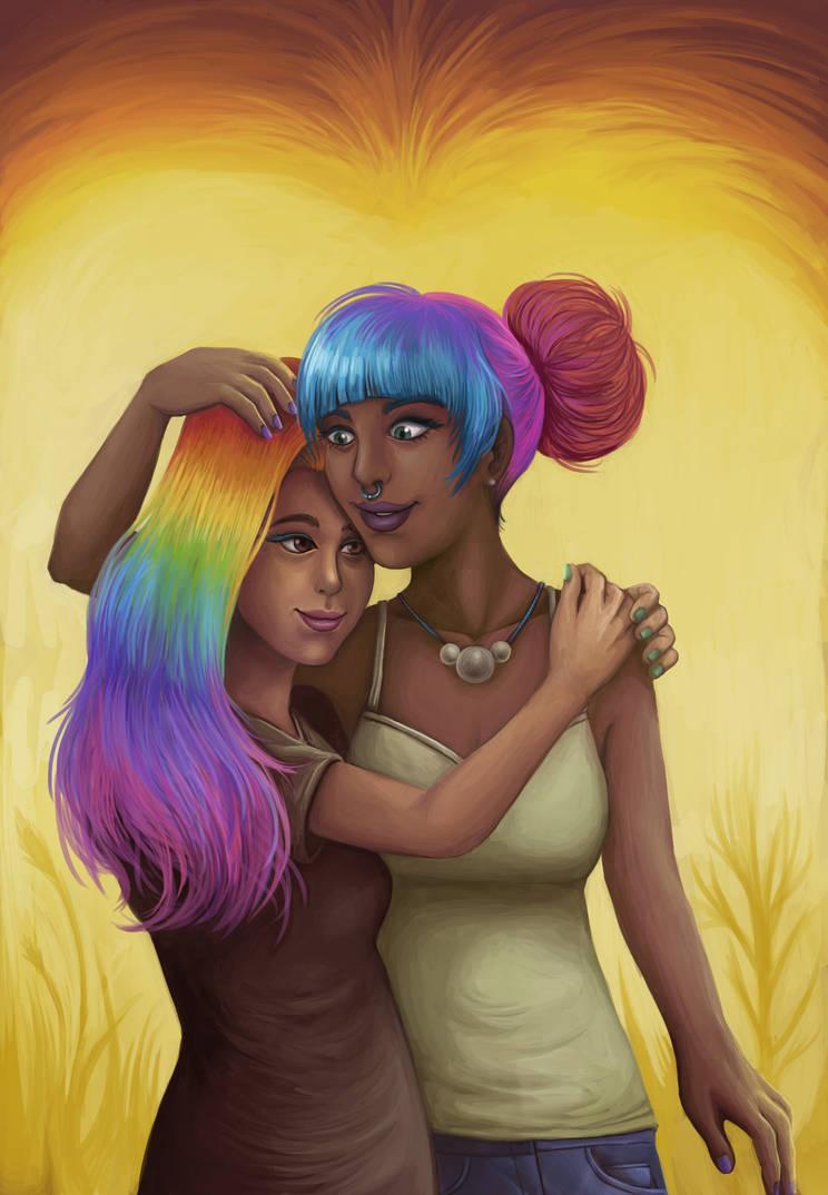 rainbow love by sushy00
