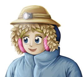 commission: character with mining hat