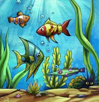 happy fish by sushy00