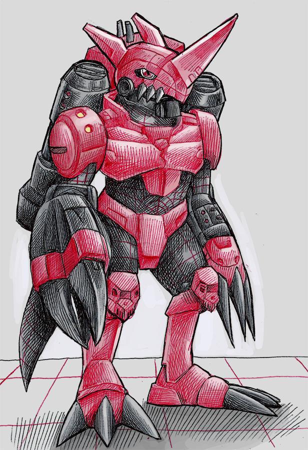 Digimontober 4: Chaosdramon