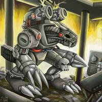 machinedramon by sushy00