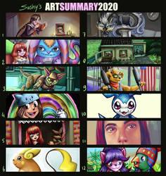art summary 2020