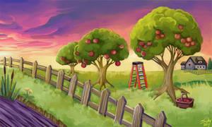 apple trees by sushy00
