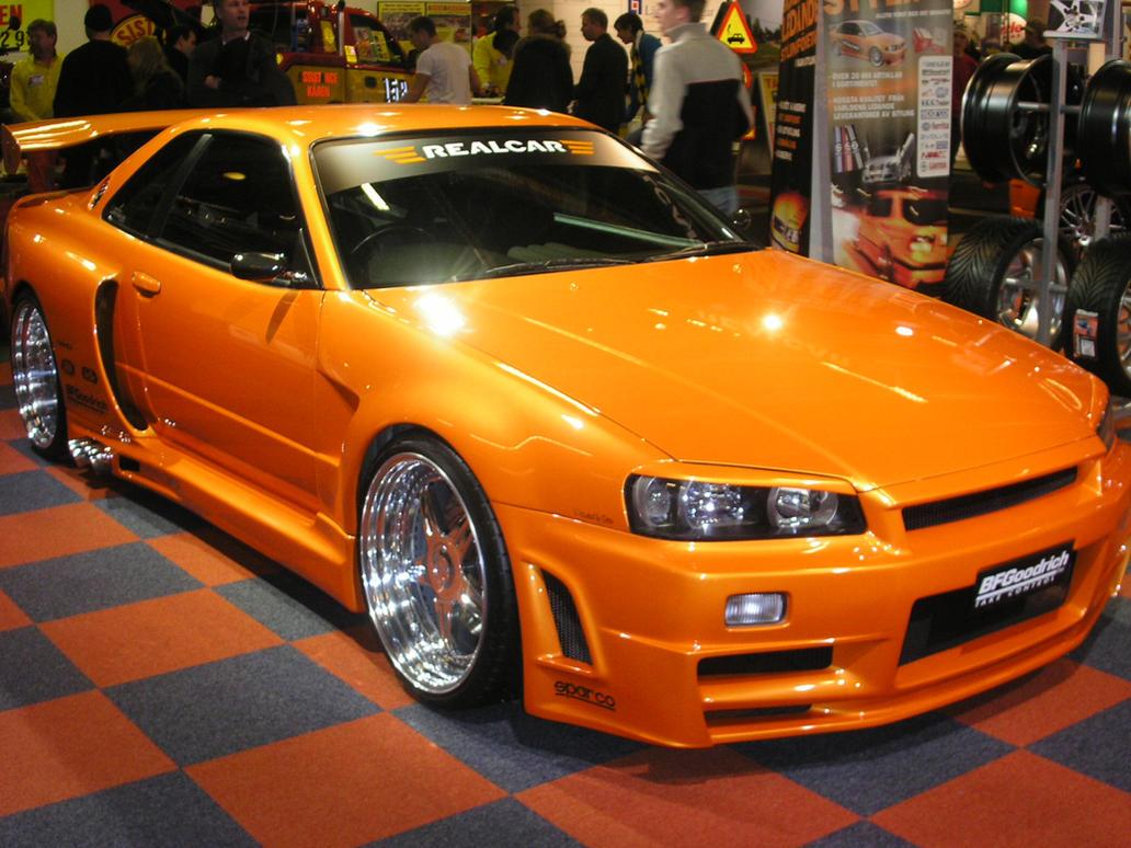Nissan Skyline R34 GTR by MKlver