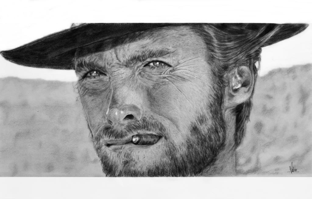 Clint Eastwood by melisa-isik