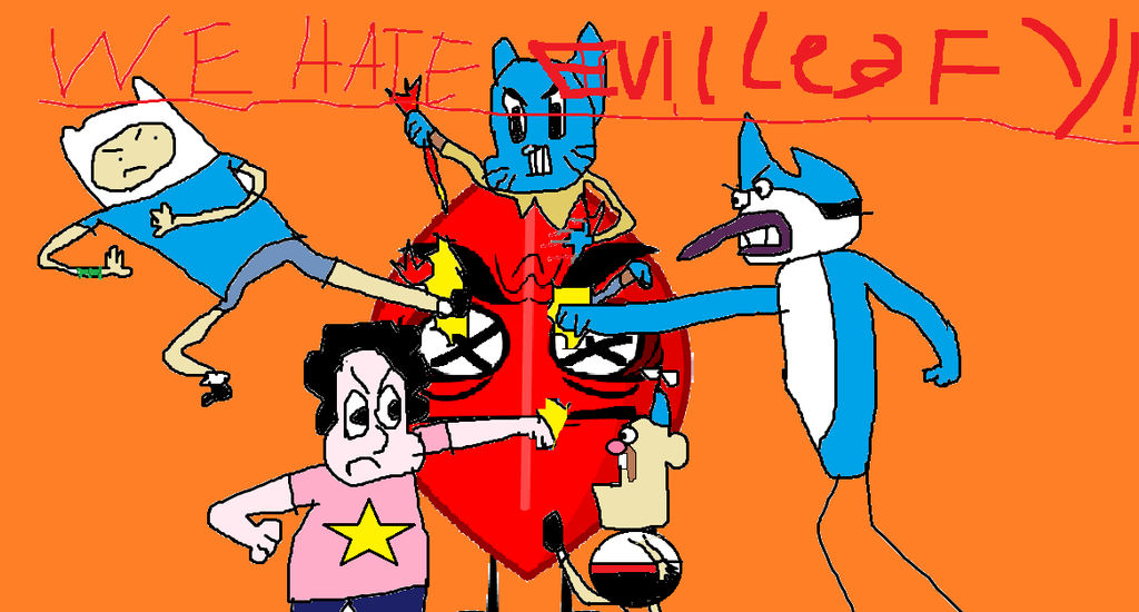 Cartoon Network Kill Evil Leafy 2 By Theemojifag666 Datp On Deviantart