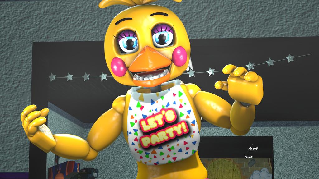 [FNAF SFM] Toy Chica By ZombiewarsSMT On DeviantArt