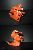 Origami Hydralisk by Richi89
