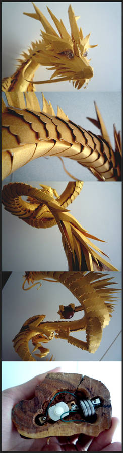 Golden Dragon Up Close